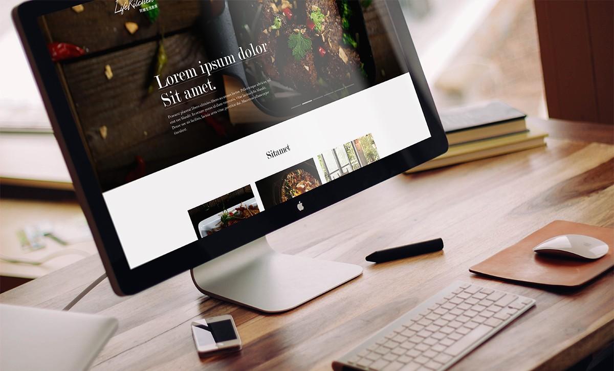Website Design for Public Company in Asia