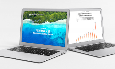 Website Design for Public Company in Asia