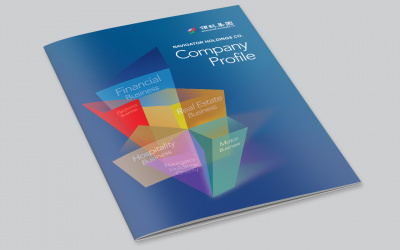 Investor relations(IR) Report Design for Public Company in Asia