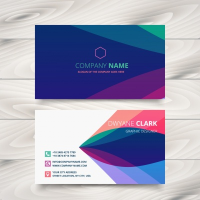 Corporate Identity System(CIS) Apply on Business Card