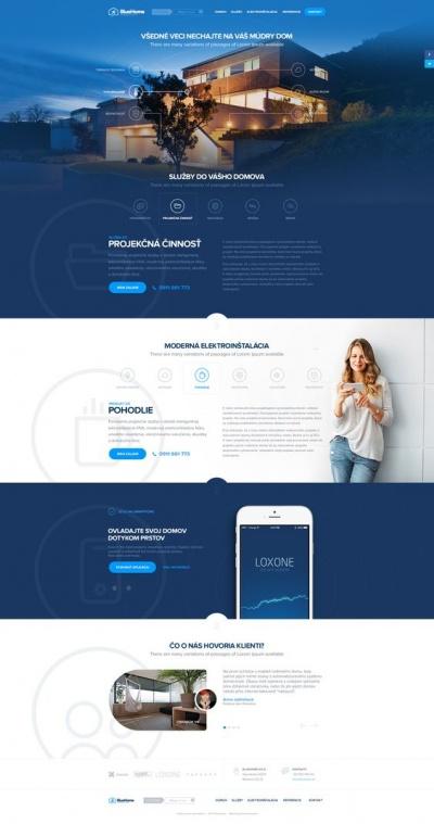 Website Design Conception Mockup by Milan Chudoba