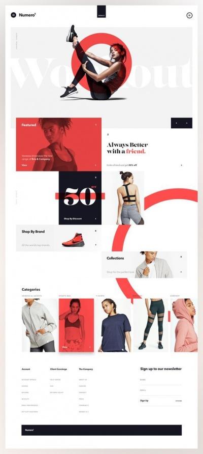 Website Design Conception Mockup Numero